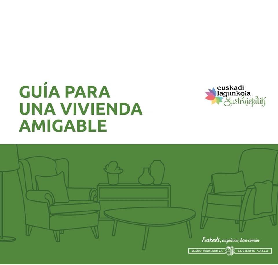 Portada publicación: Guía para una vivienda amigable